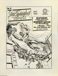 Original Comic Art:Covers, Jack Kirby and Joe Simon - Star-Spangled Comics #8 Cover OriginalArt (DC, 1942). The Newsboy Legion and the Guardian, in th...