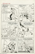Original Comic Art:Panel Pages, Jack Kirby and Chic Stone - Journey into Mystery #109, Thor page 12Original Art (Marvel, 1964). The mighty Thor, in his mor...