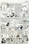 Original Comic Art:Panel Pages, Jack Kirby and Dick Ayers - Avengers #16, page 20 Original Art(Marvel, 1965)....