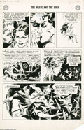 Original Comic Art:Panel Pages, Joe Kubert - Brave and the Bold #17, page 5 Original Art (DC,1957). Thrill to the heroic feat of Jon, the Viking Prince, as...