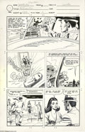 Original Comic Art:Panel Pages, Bill Montes and Dick Giordano - Judomaster #93, Sarge Steel Page Original Art, Group of 3 (Charlton, 1967). She has blackmai... (3 items)