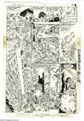 Original Comic Art:Panel Pages, George Perez and Dick Giordano - Crisis on Infinite Earths #3, page6 Original Art (Marvel, 1985). Kole and Metamorpho help ...