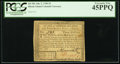 Colonial Notes:Rhode Island, Rhode Island July 2, 1780 $3 PCGS Extremely Fine 45PPQ.. ...