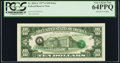 Error Notes:Third Printing on Reverse, Overprint on Back Fr. 2024-L $10 1977A Federal Reserve Note. PCGS Very Choice New 64PPQ.. ...
