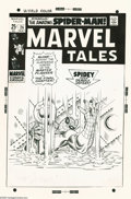 Original Comic Art:Covers, Marie Severin - Marvel Tales #26 Cover Original Art (Marvel, 1970).Marie Severin's cover drawing for Marvel Tales #26 r...