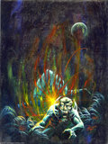 Original Comic Art:Covers, Kenneth Smith - Eerie Annual 1971 Cover Original Art (Warren,1971). Few fantasy artists can create a whole nether world mor...