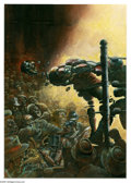 Original Comic Art:Covers, Arthur Suydam - The New Adventures of Cholly and Flytrap: TillDeath Do Us Part #2 Cover Original Art (Epic, 1991). The main... (2items)