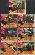 """Movie Posters:Crime, Coogan's Bluff (Universal, 1968). Lobby Cards (7) (11"""" X 14"""").Crime.... (Total: 7 Items)"""