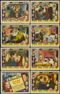 """Movie Posters:Drama, Adam Had Four Sons (Columbia, 1941). Lobby Card Set of 8 (11"""" X 14""""). Drama.... (Total: 8 Items)"""