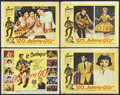 """Movie Posters:Rock and Roll, Go, Johnny, Go! (Hal Roach, 1959). Title Lobby Card and Lobby Cards(3) (11"""" X 14""""). Rock and Roll.... (Total: 4 Items)"""