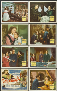 "Dragonwyck (20th Century Fox, 1946). Lobby Card Set of 8 (11"" X 14""). Thriller.... (Total: 8 Items)"
