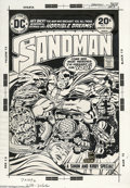 Original Comic Art:Miscellaneous, Jack Kirby and Mike Royer - The Sandman #1 Cover Stat (DC, 1974).Originally scheduled as a one-shot, Joe Simon and Jack Kir...