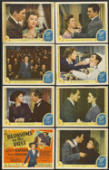 """Movie Posters:Drama, Blossoms in the Dust (MGM, 1941). Lobby Card Set of 8 (11"""" X 14""""). Drama.... (Total: 8 Items)"""