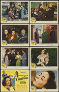 "Movie Posters:Comedy, Cynthia (MGM, 1947). Lobby Card Set of 8 (11"" X 14""). Comedy....(Total: 8 Items)"
