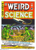Original Comic Art:Paintings, Al Feldstein and Marie Severin - Weird Science #6 Hand-Colored Print (EC, 1973). See the incredible horrors that inhabit the...