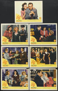 """Movie Posters:Drama, City Without Men (Columbia, 1943). Lobby Cards (8) (11"""" X 14""""). Drama.... (Total: 8 Items)"""
