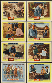 """The Big Country (United Artists, 1958). Lobby Card Set of 8 (11"""" X 14""""). Western.... (Total: 8 Items)"""
