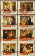 """Movie Posters:Romance, Carrie (Paramount, 1952). Lobby Card Set of 8 (11"""" X 14""""). Romance.... (Total: 8 Items)"""