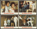 "Movie Posters:Elvis Presley, The Trouble With Girls (MGM, 1969). Lobby Cards (4) (11"" X 14"").Elvis Presley.... (Total: 4 Items)"