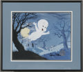 Original Comic Art:Miscellaneous, Casper Hand-Painted Limited Edition Cel #132/250 (Harvey ComicsEntertainment, 1992). This hand-inked and hand-painted chara... (2items)