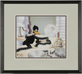 """Original Comic Art:Miscellaneous, """"Daffy Duck in Hollywood"""" Tex Avery Masters Collection Hand-PaintedLimited Edition Scene Cel #234/150 (Warner Bros., 1994)...."""