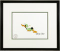 Original Comic Art:Miscellaneous, Duck Dodgers and the Return of the 24 1/2 Century Production Cel(Warner Bros., 1980). This original production animation ce...