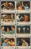 "Movie Posters:Elvis Presley, Kid Galahad (United Artists, 1962). Lobby Card Set of 8 (11"" X14""). Elvis Presley.... (Total: 8 Items)"