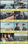 """Movie Posters:War, The Blue Max (20th Century Fox, 1966). Lobby Card Set of 8 (11"""" X14""""). War.... (Total: 8 Items)"""