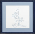 Original Comic Art:Miscellaneous, Sorcerer Mickey Pencil Animation Drawing (undated). Animator EricScales is responsible for this magical rendition of Mickey...