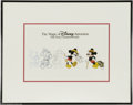 Original Comic Art:Miscellaneous, The Magic of Disney Animation Sericel (The Walt Disney Company,undated). This progressive Mickey Mouse cel shows the basic ...