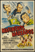 """Movie Posters:Comedy, In the Navy (Universal, 1941). Argentinean Poster (29"""" X 43"""").Comedy...."""