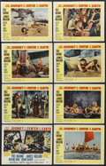 "Movie Posters:Science Fiction, Journey to the Center of the Earth (20th Century Fox, 1959). LobbyCard Set of 8 (11"" X 14""). Science Fiction.... (Total: 8 Items)"