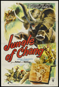 """Movie Posters:Documentary, Jungle of Chang (RKO, 1951). One Sheet (27"""" X 41""""). Documentary...."""