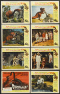 "Movie Posters:Science Fiction, Dinosaurus! (Universal, 1960). Lobby Card Set of 8 (11"" X 14"").Science Fiction.... (Total: 8 Items)"