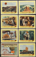 """Movie Posters:Academy Award Winner, Around the World in 80 Days (United Artists, 1956). Lobby Card Set of 8 (11"""" X 14""""). Academy Award Winner.... (Total: 8 Items)"""
