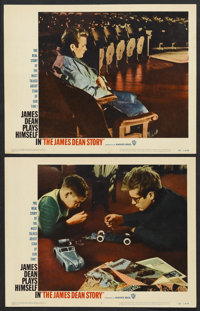 """The James Dean Story (Warner Brothers, 1957). Lobby Cards (2) (11"""" X 14""""). Documentary.... (Total: 2 Items)"""