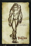 "Movie Posters:Animated, Tarzan (Buena Vista, 1999). One Sheet (27"" X 40"") DS Advance.Animated...."