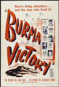 "Movie Posters:Documentary, Burma Victory (Warner Brothers, 1945). One Sheet (27"" X 41""). Documentary...."