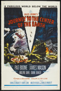 """Movie Posters:Science Fiction, Journey to the Center of the Earth (20th Century Fox, 1959). OneSheet (27"""" X 41""""). Science Fiction...."""