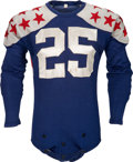 Football Collectibles:Uniforms, 1939 Earl Brown Game Worn College All Stars Uniform, MEARS A10....