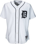 Baseball Collectibles:Uniforms, 2010 Magglio Ordonez Game Worn Detroit Tigers Jersey. . ...