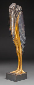Sculpture, Georges H. Laurent (French, 20th Century). Marabout, circa 1930. Gilt and silver plated bronze. 15-1/2 inches (39.4 cm) ...