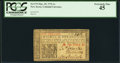 Colonial Notes:New Jersey, New Jersey March 25, 1776 1s PCGS Extremely Fine 45.. ...