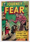 Golden Age (1938-1955):Horror, Journey Into Fear #17 (Superior Comics, 1954) Condition: VG+....