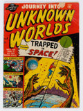 Golden Age (1938-1955):Science Fiction, Journey Into Unknown Worlds #5 (Atlas, 1951) Condition: GD....