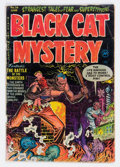 Golden Age (1938-1955):Horror, Black Cat Mystery #36 (Harvey, 1952) Condition: VG....