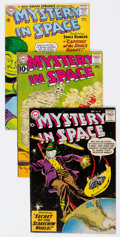 Silver Age (1956-1969):Science Fiction, Mystery in Space Group of 7 (DC, 1959-65) Condition: AverageFN/VF.... (Total: 7 Comic Books)