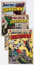 Silver Age (1956-1969):Horror, Adventures Into The Unknown Group of 7 (ACG, 1950-62) Condition:Average VG.... (Total: 7 Comic Books)