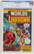 Bronze Age (1970-1979):Science Fiction, Worlds Unknown #1 (Marvel, 1973) CGC NM/MT 9.8 White pages....