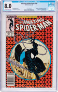 Modern Age (1980-Present):Superhero, The Amazing Spider-Man #300 (Marvel, 1988) CGC VF 8.0 Off-white towhite pages....